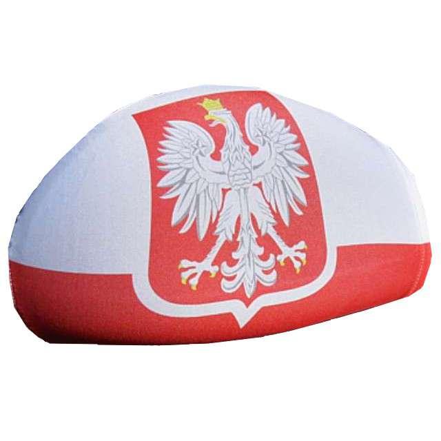 "Dekoracja na lusterka ""Flaga Polski"", GODAN, 2 szt"