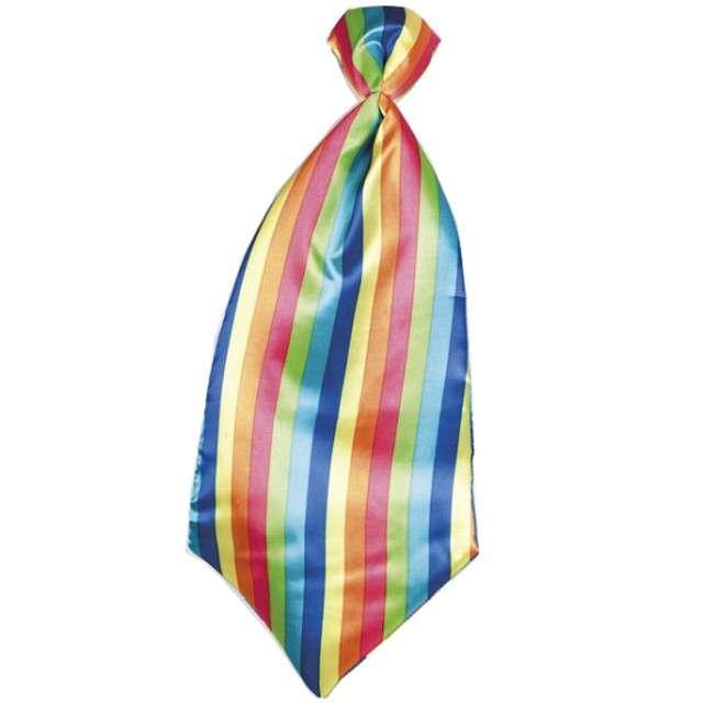 """Krawat """"Klaun Pasiasty XXL"""", BOLAND"""