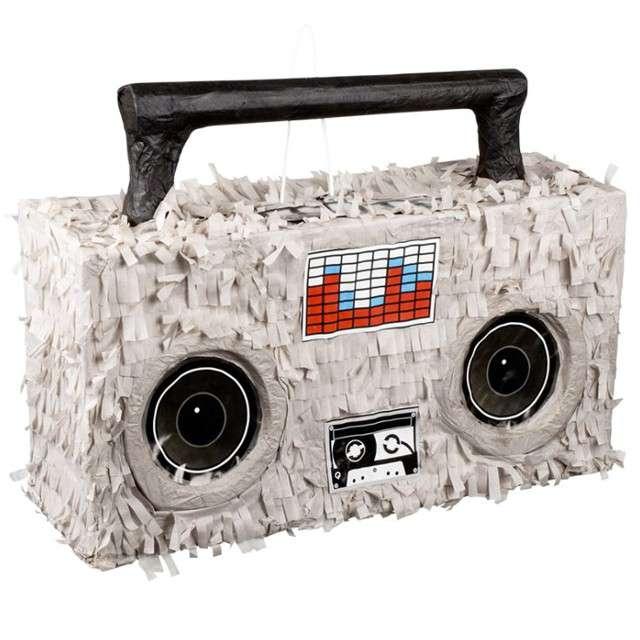"Piniata ""Magnetofon Boombox"", BOLAND, 52x35 cm"