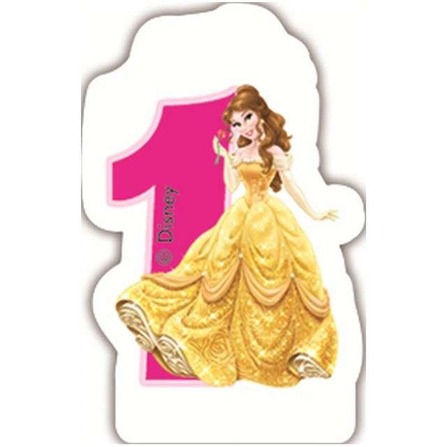 "Świeczka na tort ""Disney Princess 1"", PROCOS, 6 cm"