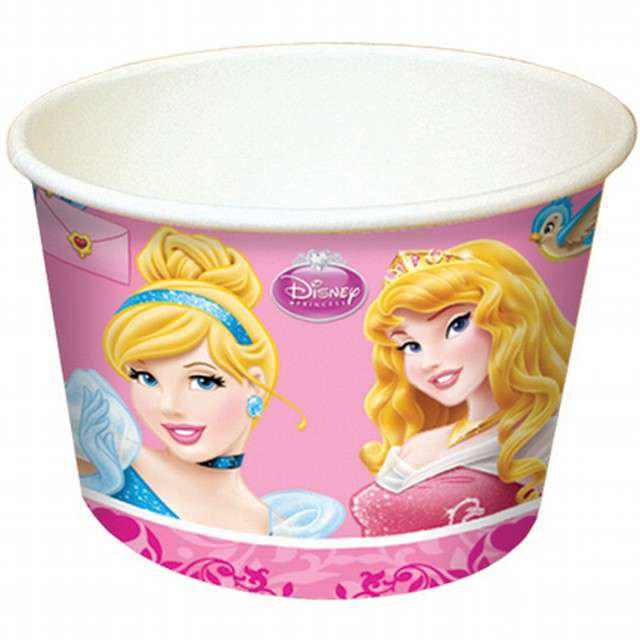 """Kubeczki do lodów """"Princess and Animals"""", PROCOS, 200 ml, 8 szt"""