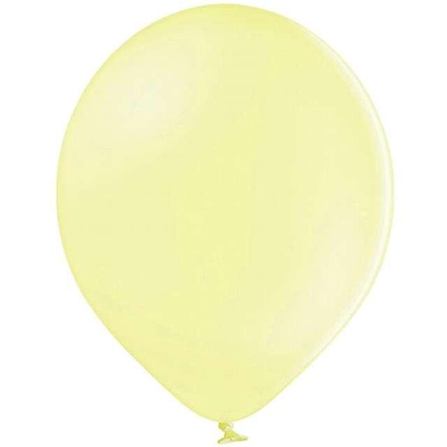 "Balony ""Pastel"", żółte jasne, 12"" STRONG,  10 szt"