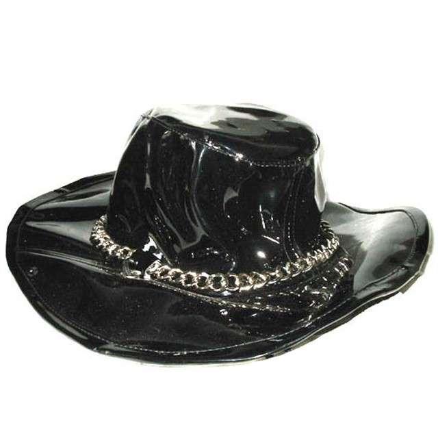 """Kapelusz """"Kowboj Striptizer"""", czarny, Funny Fashion"""