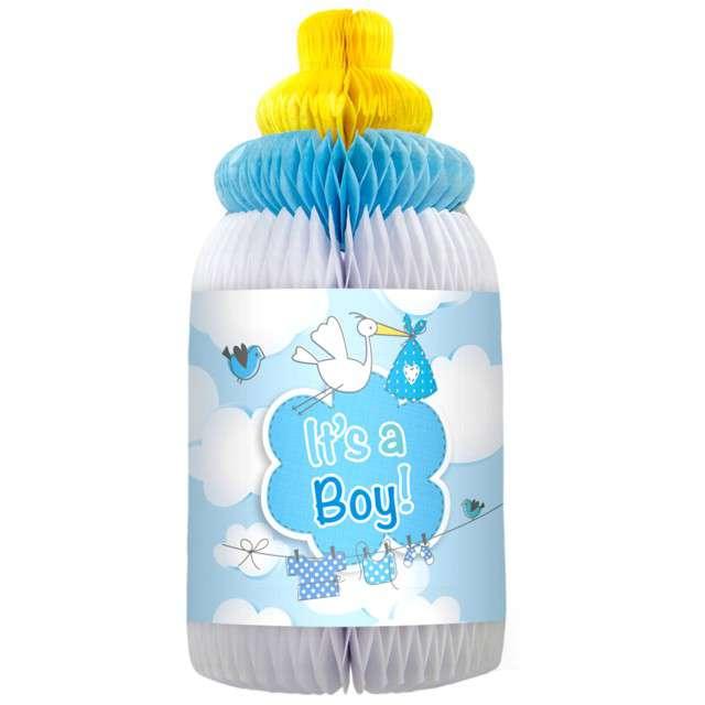 """Rozeta wisząca """"Butelka Honeycomb"""", błękitna, FOLAT"""