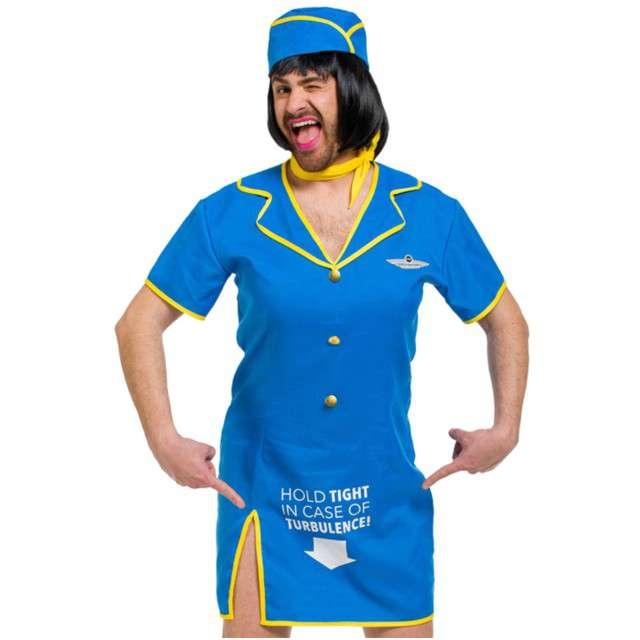 """Strój dla dorosłych """"Męska Stewardessa"""", FOLAT, rozm. M/L"""