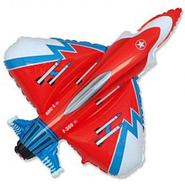 "Balon foliowy ""Samolot F16"", GRABO, 14"" SHP"