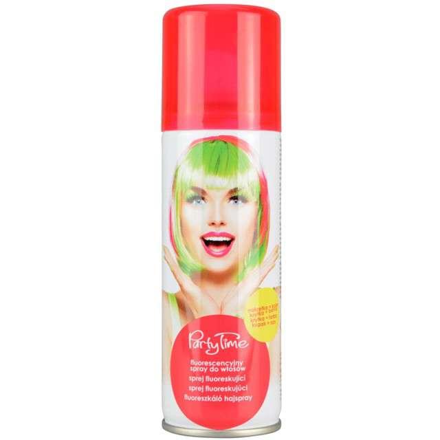 """Spray koloryzujcy """"Fluorescencyjny """", czerwony, ARPEX, 125 ml"""