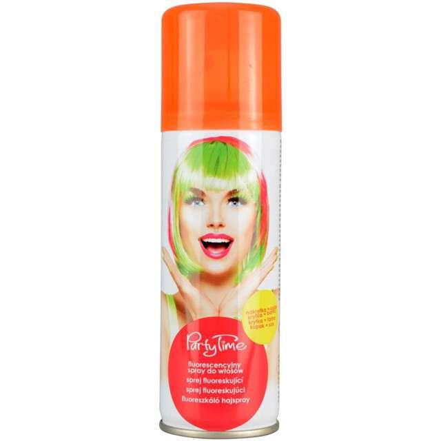 """Spray koloryzujcy """"Fluorescencyjny """", pomarańczowy, ARPEX, 125 ml"""