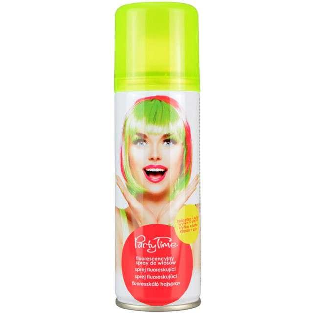 """Spray koloryzujcy """"Fluorescencyjny """", żółty, ARPEX, 125 ml"""