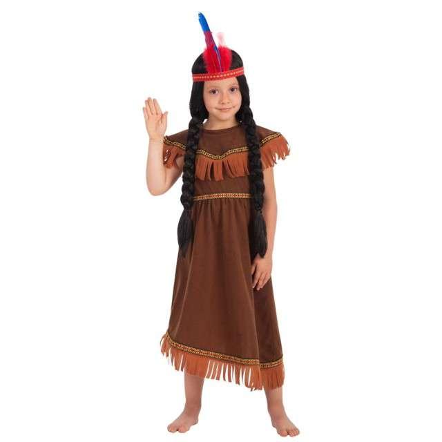"""Strój dla dzieci """"Indianka"""", Carnival Toys, rozm. 4-7 lat"""
