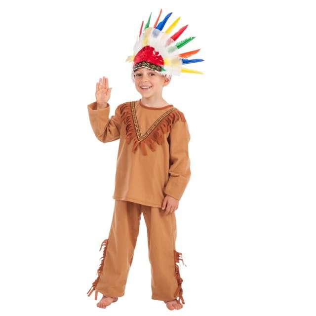 """Strój dla dzieci """"Indianin"""", Carnival Toys, rozm. 4-7 lat"""
