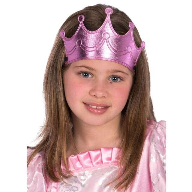 """Opaska elastyczna """"Korona Królowej"""", różowa, Carnival Toys"""
