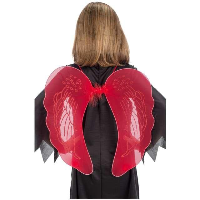 """Skrzydła """"Diabeł"""", czerwony, Carnival Toys, 45 cm"""