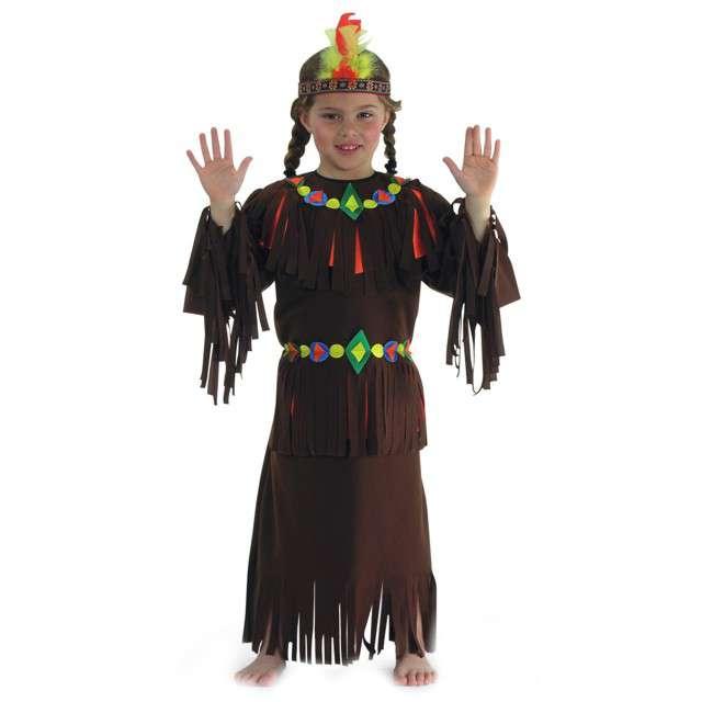 """Strój dla dzieci """"Indianka"""", Carnival Toys, rozm. 6-7 lat"""