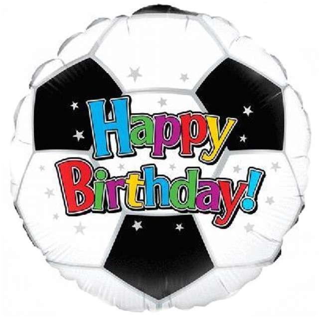 """Balon foliowy """"Football - Piłka Nożna"""", OAKTREE, 18"""" CIR"""