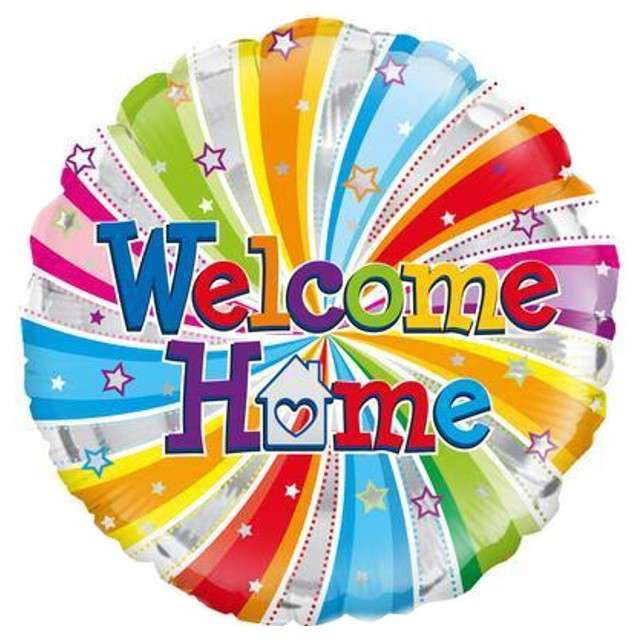 "Balon foliowy ""Welcome Home"", OAKTREE, 18"" CIR"