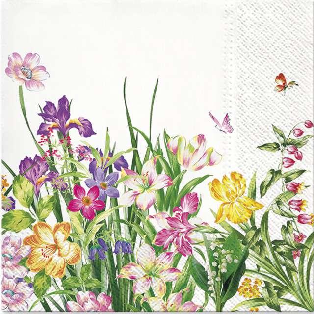 """Serwetki """"Wiosenne Kwiaty - Power of Spring"""", PAW, 33 cm, 20 szt"""