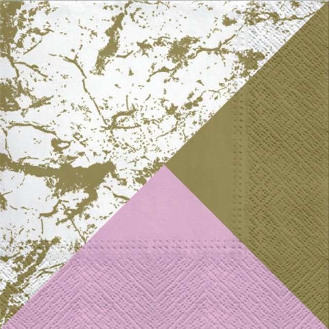 """Serwetki """"Marble Style"""", PAW, 33 cm, 20 szt"""