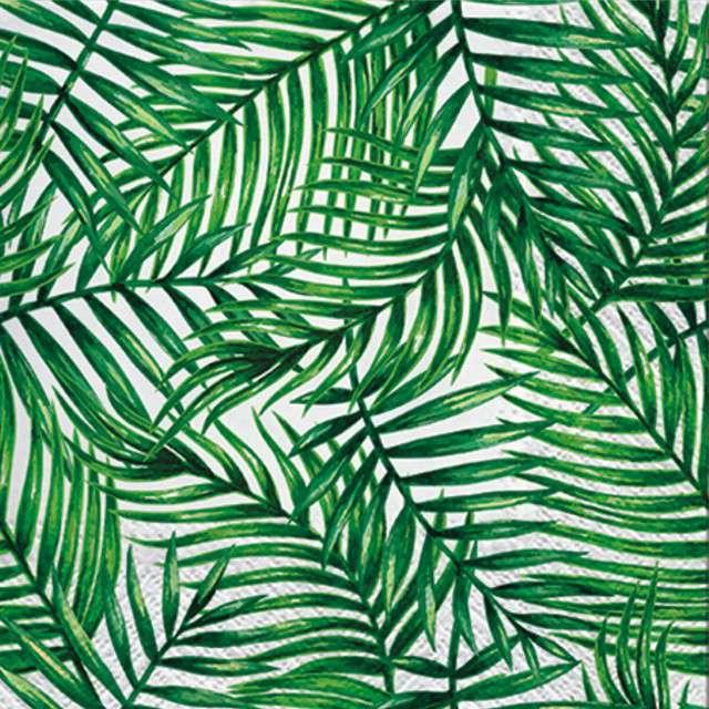 """Serwetki """"Tropikalne Liście"""", PAW, 33 cm, 20 szt"""