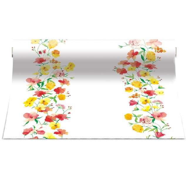 """Bieżnik """"Kwiaty"""", PAW, 480x33 cm"""
