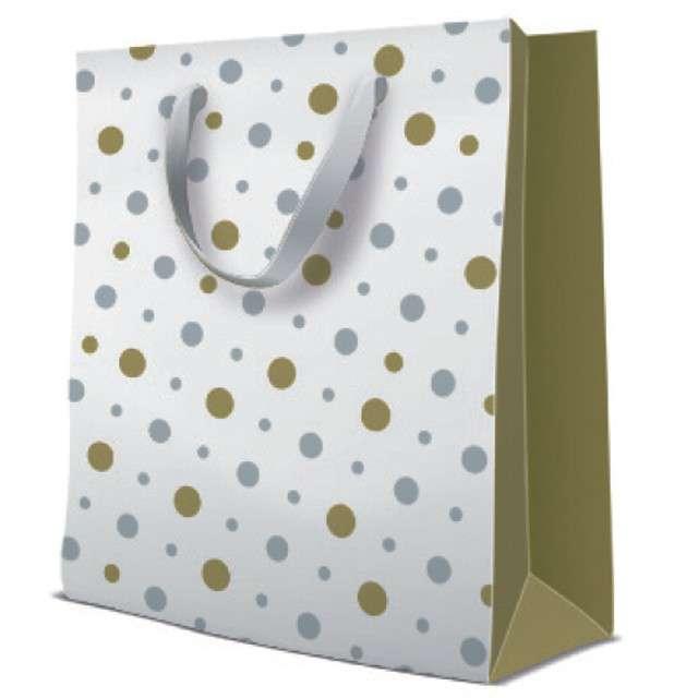 """Torebka prezentowa """"Simple Dots - Premium"""", PAW, 33x26 cm"""