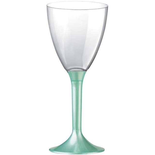 """Kieliszki jednorazowe """"Wino Classic"""", miętowe, GoldPlast, 180 ml, 10 szt"""