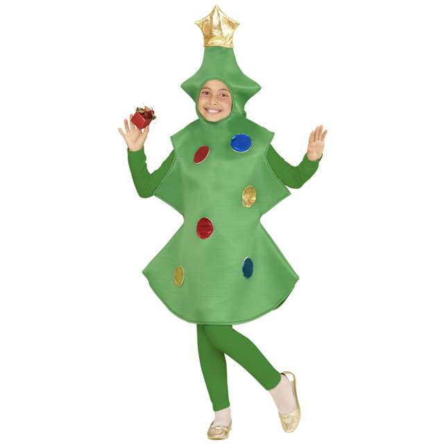 """Strój dla dzieci """"Świąteczna Choinka"""", WIDMANN, rozm. 5-7 lat"""