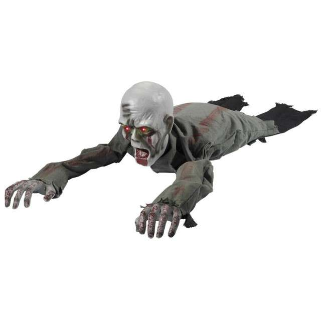 """Dekoracja """"Czołgający się Zombie"""", SMIFFYS, 110 cm"""