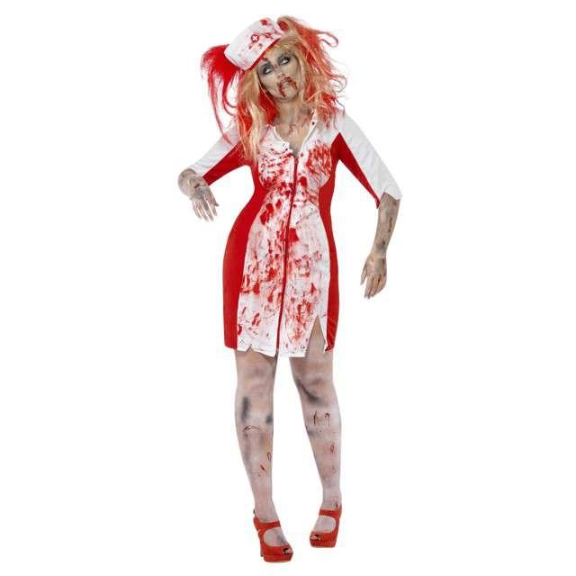 """Strój dla dorosłych """"Zombie Pielęgniarka"""", SMIFFYS, rozm. XL"""