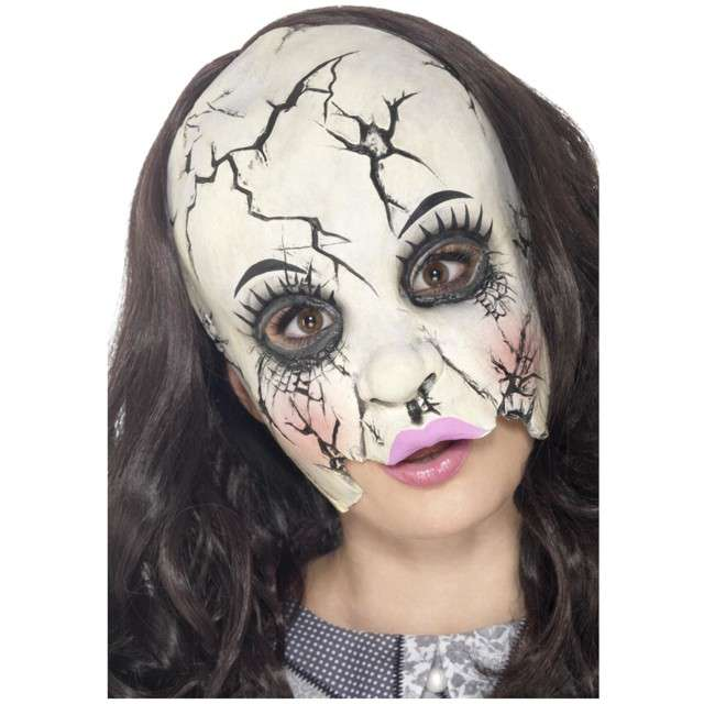 "Maska ""Lalka z Horroru"", lateksowa, SMIFFYS"