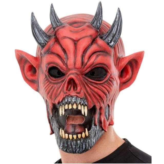 "Maska ""Diabeł"", lateksowa, SMIFFYS"