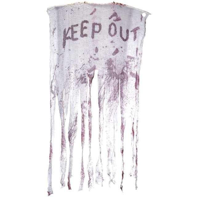 """Dekoracja wisząca """"Zasłona - Keep Out"""", SMIFFYS, 150 cm"""
