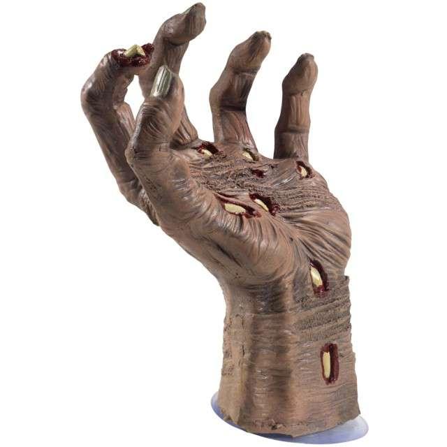 """Dekoracja """"Dłoń Gnijący Zombie"""", SMIFFYS, 21 cm"""