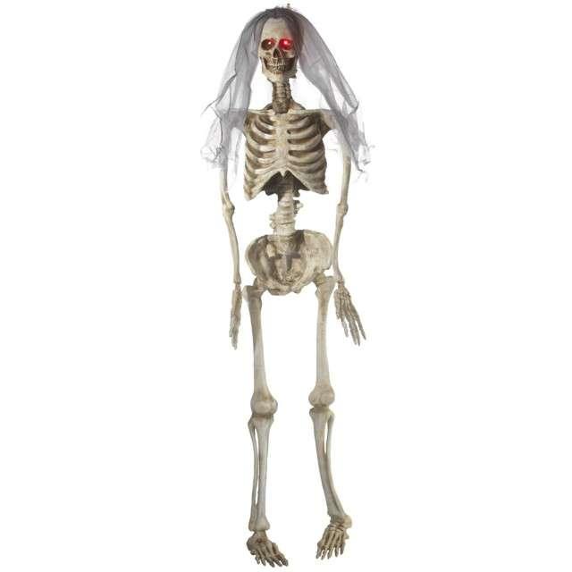 """Dekoracja wisząca """"Szkielet Panna Młoda"""", SMIFFYS, 170 cm"""