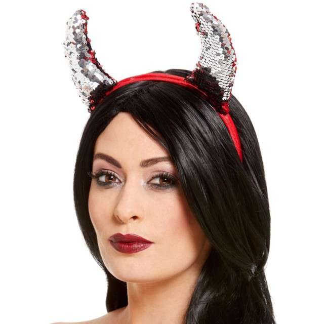 _xx_Reversible Sequin Devil Horns