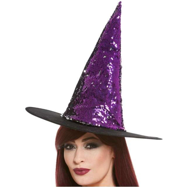 _xx_Reversible Sequin Witch Hat