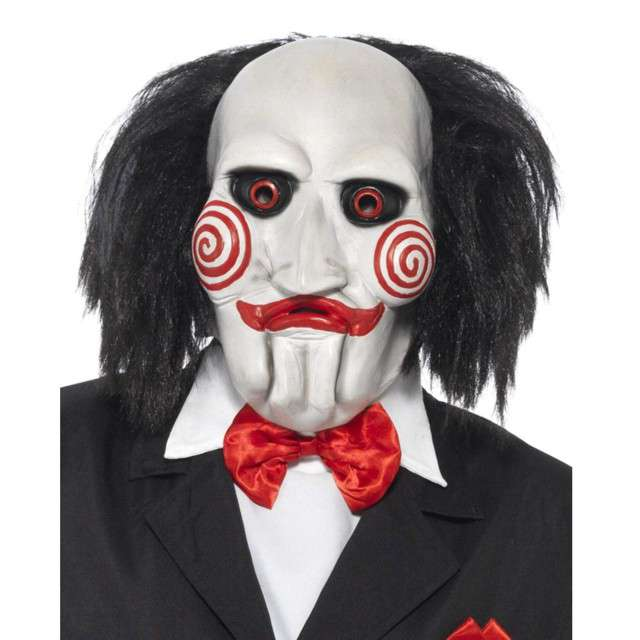 Maska Billy Jigsaw lateksowa SMIFFYS