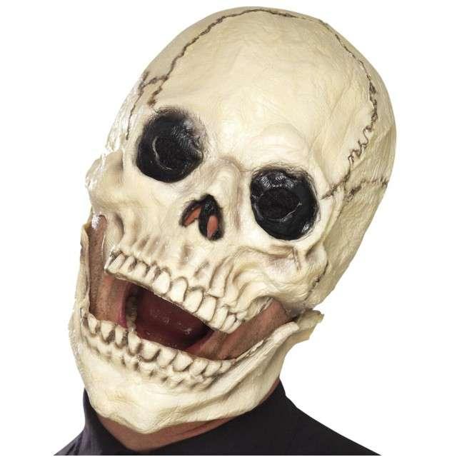 Maska Czaszka Kościotrup lateksowa SMIFFYS