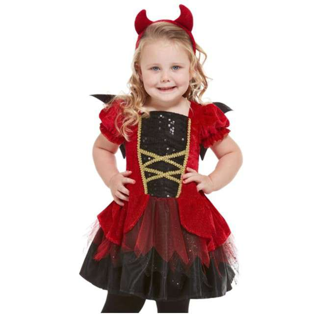 """Strój dla dzieci """"Diabełek"""", SMIFFYS, rozm. 1-2 lat"""