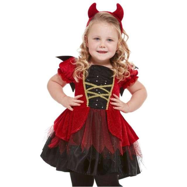 Strój dla dzieci Diabełek SMIFFYS rozm. 3-4 lat