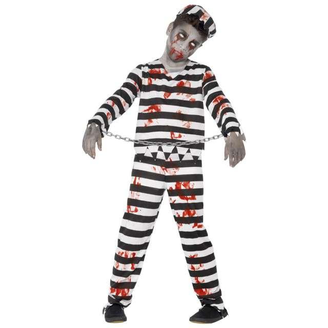 """Strój dla dzieci """"Zombie Więzień"""", SMIFFYS, rozm. 4-6 lat"""