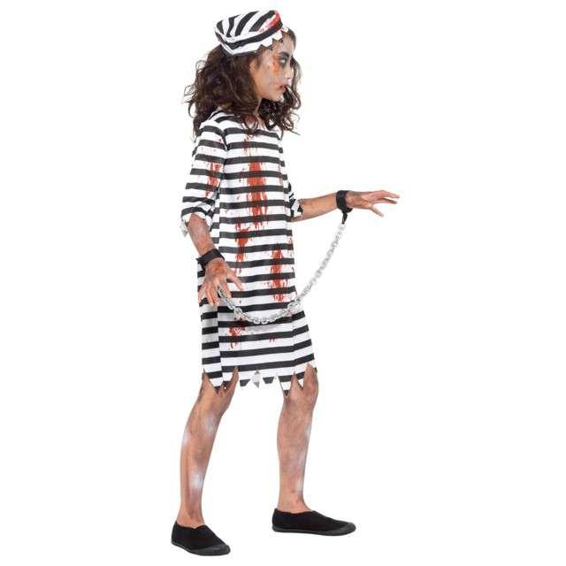 Strój dla dzieci Zombie Więzień SMIFFYS rozm. 10-12 lat