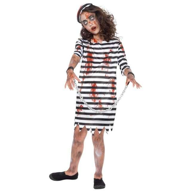 """Strój dla dzieci """"Zombie Więzień"""", SMIFFYS, rozm. 7-9 lat"""
