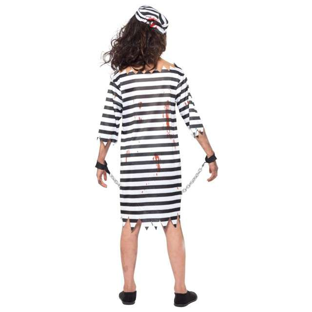 Strój dla dzieci Zombie Więźniarka SMIFFYS  4-6 lat