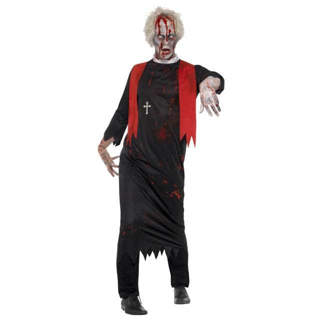 """Strój dla dorosłych """"Ksiądz Zombie"""", SMIFFYS, rozm. L/XL"""