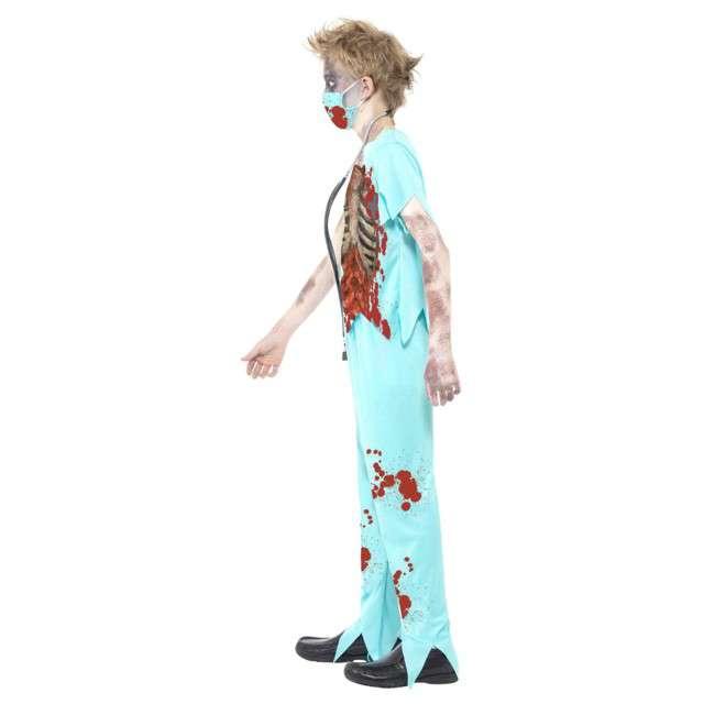 Strój dla dzieci Zombie Chirurg SMIFFYS rozm. 7-9 lat