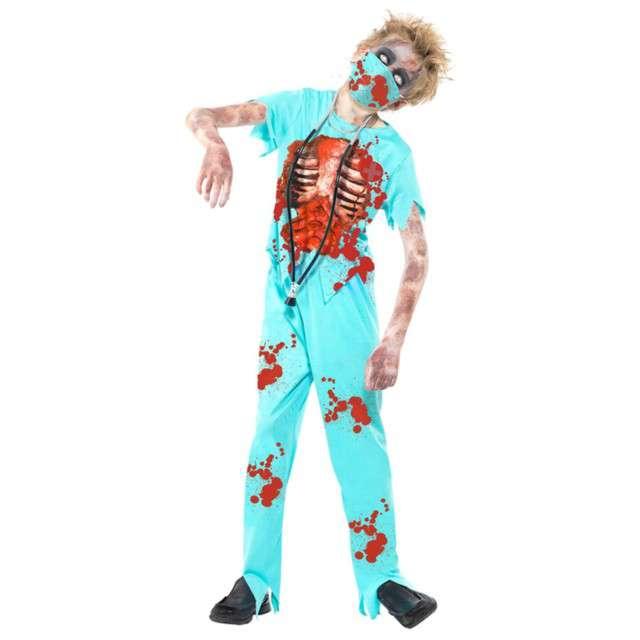"""Strój dla dzieci """"Zombie Chirurg"""", SMIFFYS, rozm. 7-9 lat"""