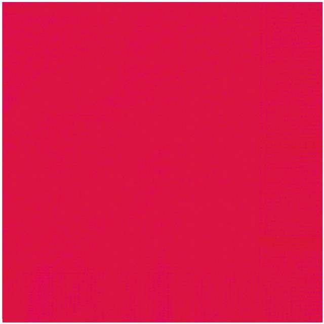 """Serwetki papierowe """"Classic"""", czerwony, UNIQUE, 33 cm, 20 szt"""