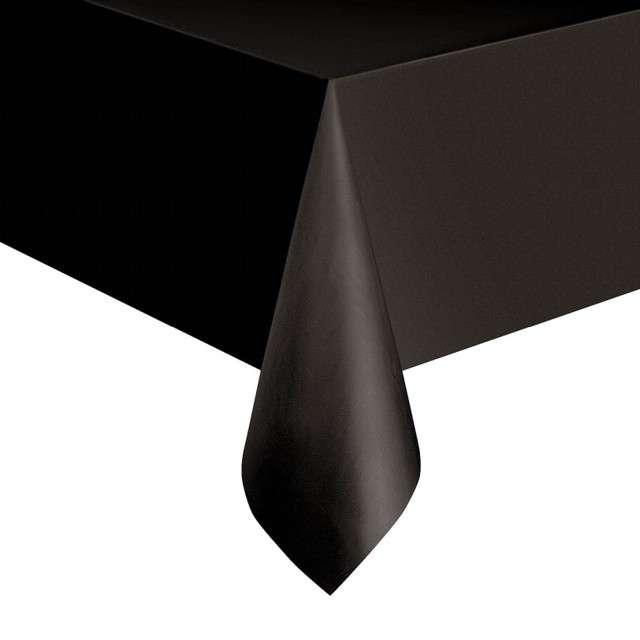 Obrus foliowy Classic czarny UNIQUE 275x137 cm