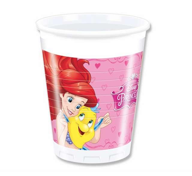 """Kubeczki plastikowe """"Princess Dreaming"""", PROCOS, 200 ml, 8 szt"""